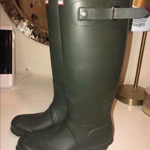 Green Hunter Rainboots